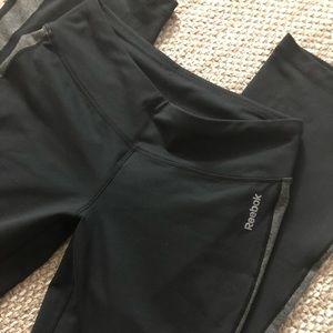Reebok workout straight leg pants